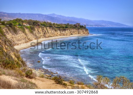 Point Dume State Beach and Preserve. Malibu, California.