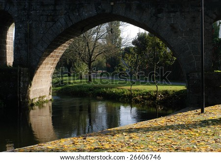 Ponte de Lima - Portugal - Europe - stock photo