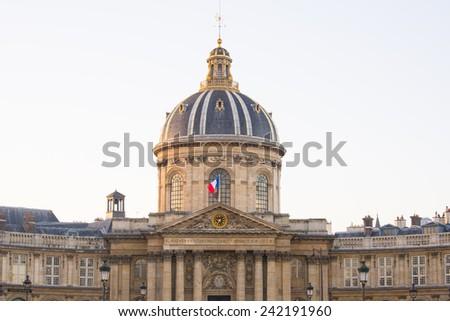 Ponts des arts in Paris, France - stock photo