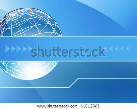 Presentation Background - stock photo