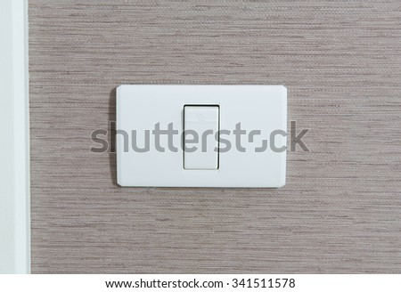 pressing electronic-light switch