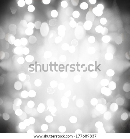 pretty bokeh for holiday designs like christmas of new year's eve
