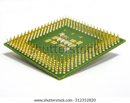 Processor with a plurality of contacts is used to calculate the mathematical problems