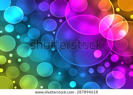 rainbow,colorful bokeh background