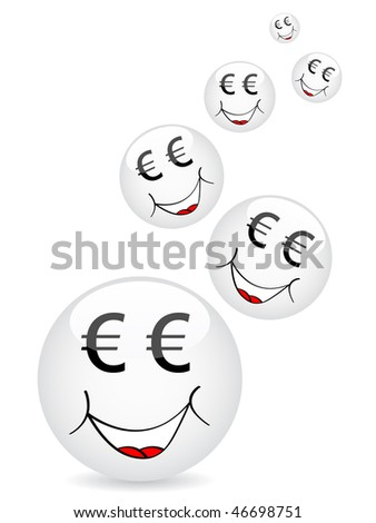 (raster image of vector) cartoon faces