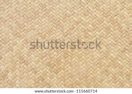 Rattan texture - stock photo