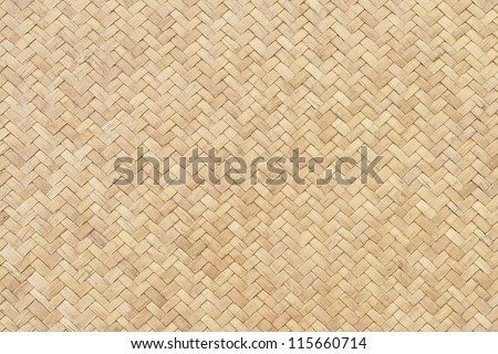 Rattan texture, detail handcraft bamboo weaving texture background. - stock photo