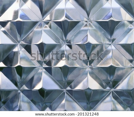 realistic glass background wallpaper texture - stock photo
