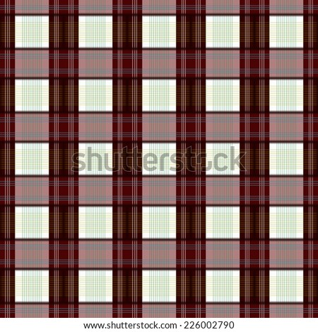 red plaid  seamless pattern background.