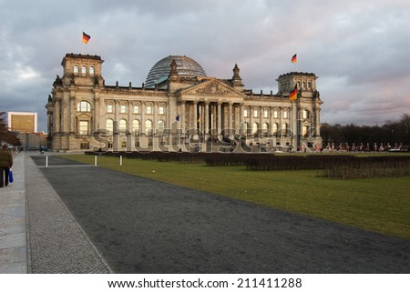 """Reichstag"" in Berlin, Germany"
