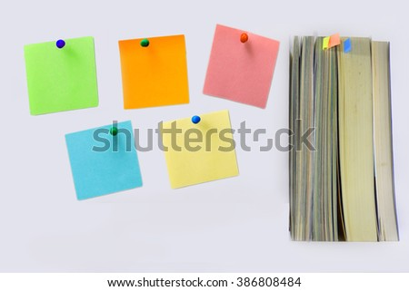 Reminder five day  notes and  book.