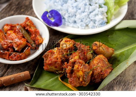 Fantastic Hari Raya Eid Al-Fitr Food - stock-photo--rendang-is-served-in-malaysia-singapore-brunei-indonesia-and-southern-philippines-rendang-is-303542330  Image_431462 .jpg