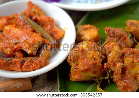 Rendang is  served in Malaysia, Singapore, Brunei, Indonesia and Southern Philippines. Rendang is traditionally prepared during festive occasions such as wedding feasts and Hari Raya (Eid al-Fitr).