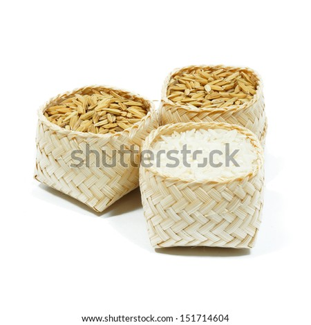 rice isolated