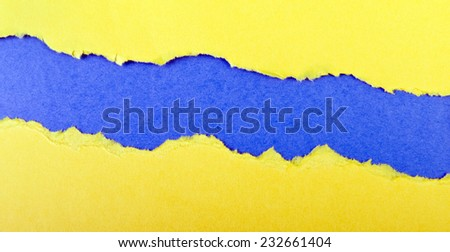 ripped paper with place for your image or text