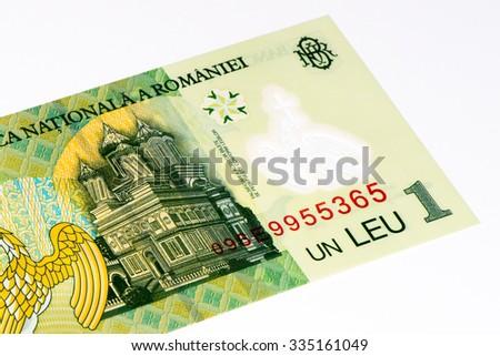1 Romanian Leu Bank Note Lei Stock Photo 335161049 Shutterstock