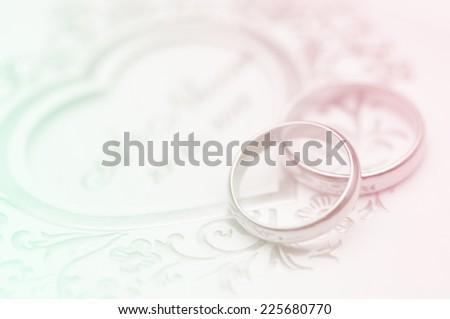 romantic background - stock photo