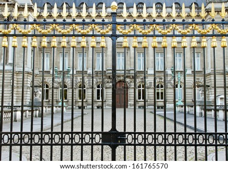 Royal Palace in the Brussels.  - stock photo