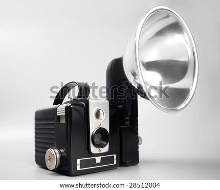 1950s camera - stock photo