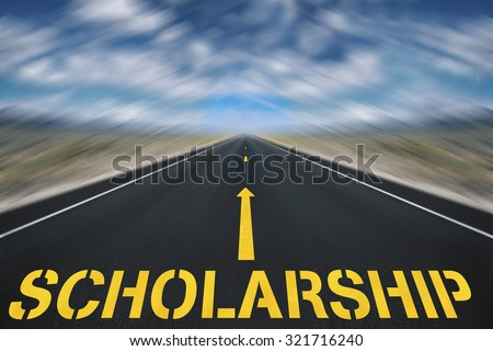 Scholarship  - stock photo
