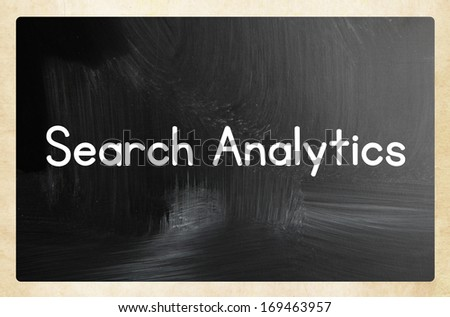 search analytics concept