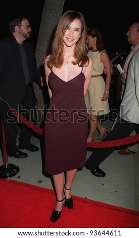 "22SEP97:  Actress JENNIFER LOVE HEWITT at the premiere of Oliver Stone's new movie, ""U-Turn."""