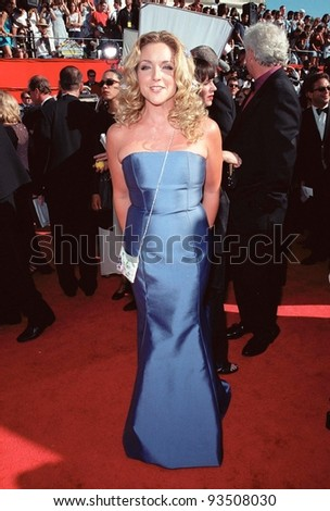 "12SEP99: ""Ally McBeal"" star JANE KRAKOWSKI at the 51st Annual Emmy Awards in Los Angeles.  Paul Smith / Featureflash"