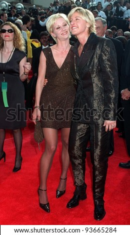 Anne Heche And Ellen Degeneres
