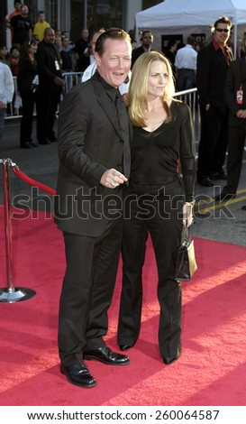20 September 2004 - Hollywood, California - Robert Patrick and guest. World premiere of 'Ladder 49' at the El Capitan Theatre in Hollywood.