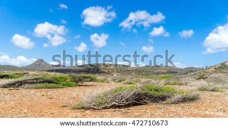 Shete Boka National park  -  Views around Curacao a small Caribbean Island in the Netherland Antilles