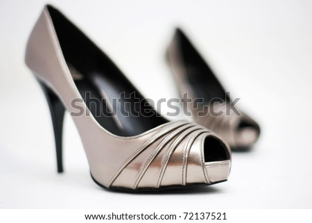 shoes on high heel