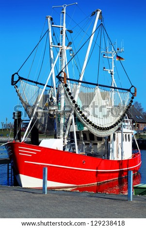 Shrimp boat stock images royalty free images vectors for Renew nc fishing license