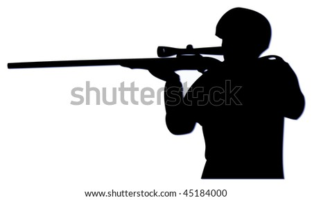 Stock Images similar to ID 28090216 - soldier aiming with ...