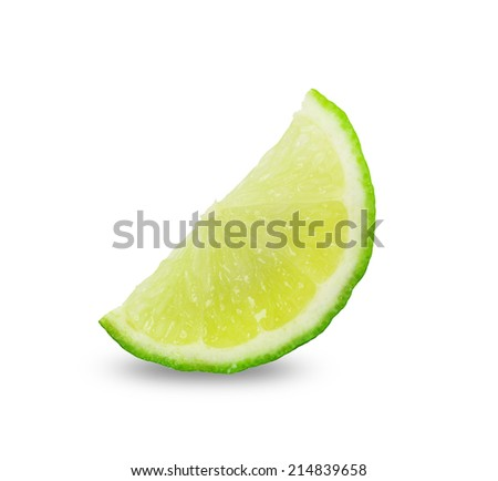 slices lime