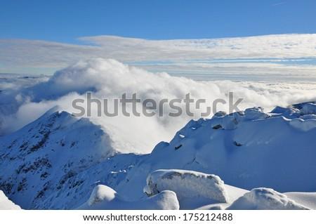 slovakia mountains  - stock photo