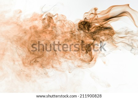 smoke abstract background. - stock photo