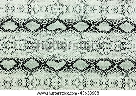 snake skin leather background - stock photo