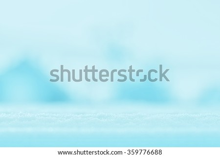 snowflakes frozen ice and frost on a cold winter day - stock photo