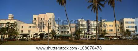��SOBE� south beach, Miami Beach, Florida - stock photo