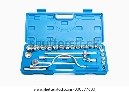 spanners set - stock photo