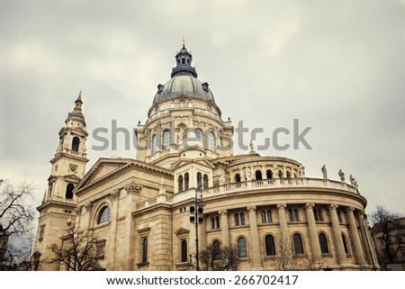 St. Stephen's Basilica is a Roman Catholic basilica in Budapest