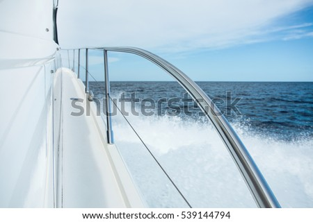 Stainless Steel Yacht Railing
