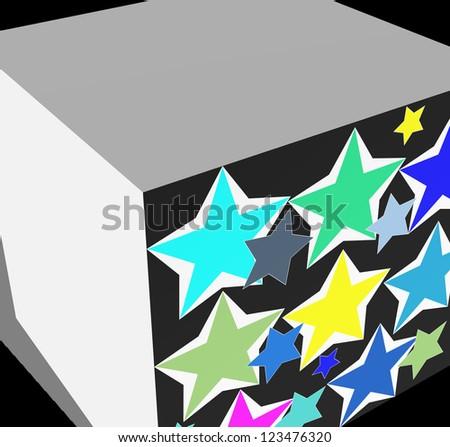 stars - stock photo