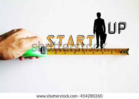 Start-up business text