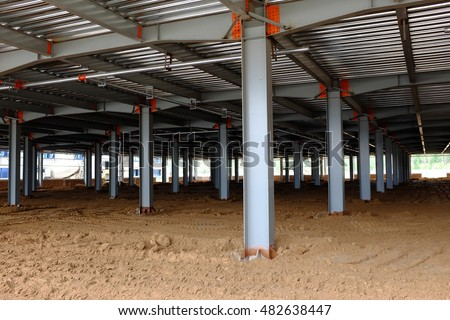 Steel Columns Stock Images Royalty Free Images Amp Vectors