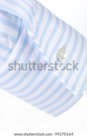 stripe sleeve shirt - stock photo