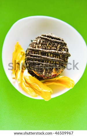 sunny breakfast - stock photo