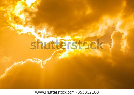 surface and the specific cloud . - stock photo