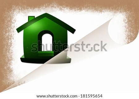 sweet home icon design - stock photo