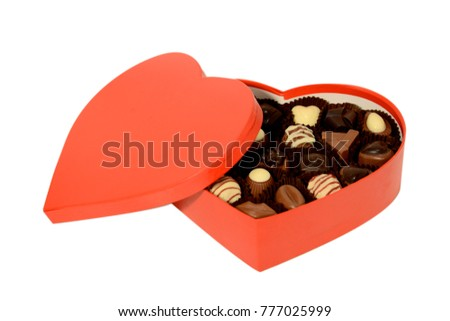 Sweetheart day gift heart box chocolates stock photo 777025999 sweetheart day gift heart box of chocolates negle Gallery